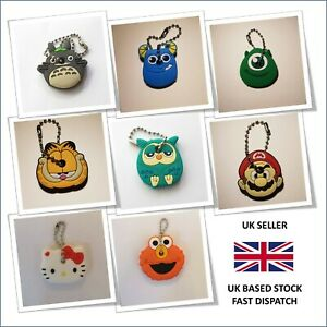 Cartoon Character Totoro Key Ring Cap Cover Bag Dangler Party Gift Stocking