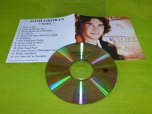 JOSH GROBAN - NOEL !!!!!!!!!!!!! RARE FRENCH PROMO CD !!!!!!!!!!!!