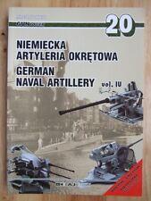 German Naval Artillery, vol IV - Miroslaw Skwiot (GunPower 20)