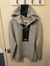 Palace Skateboards Quicker Shell Hood Grey Marl Size Large