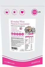 PINK SUN Everyday Whey 1kg or 3kg - Grass Fed Hormone Free Whey Protein Powder