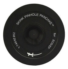 Skink Pinhole Pancake Obiettivo PRO KIT Canon 760d, 750d, 650d, 550d, 450d, 350d