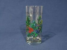"""Portmeirion """"The Holly and the Ivy"""" Cooler / Glass - 7 5/8"""" - Excellent"""