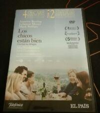 LOS CHICOS ESTÁN BIEN - LISA CHOLODENKO - CINE GAY- DVD - 2 GLOBOS DE ORO