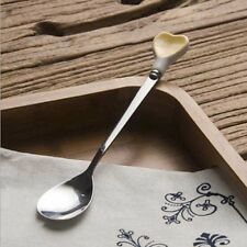 Lovely Dessert Cake Ice Cream Stainless Steel Spoons Coffee Teaspoon Fork Home