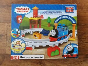 MEGA BLOKS - Thomas & Friends - 10570 - Go Thomas Go - TOY Track Set Complete