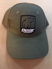 NEW BEAR ARCHERY TROPHY RIDGE OLIVE GREEN PRO SHOOTERS BOW HAT FREE SHIPPING