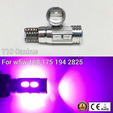 T10 W5W 194 168 2825 12961 3rd Brake Light Purple 10 Canbus LED M1 For Acura M