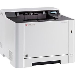 Kyocera ECOSYS P5021CDN, Farblaserdrucker, grau