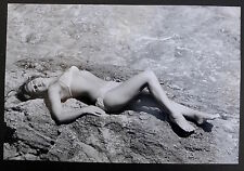 Shahrokh Hatami - Ira de Furstenberg - Epreuve argentique d'époque 1960 -