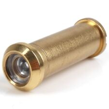 Brass 160 Degree Wide Angle Door Viewer Security Spy Glass Lens PEEP Hole View