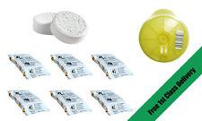 Tassimo Service Reinigungsdisc+6 Entkalkungstabletten+6 Puly Caff Tabletten