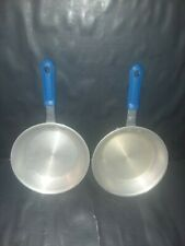 2 Dura Ware New York # 907 Heavy Duty Aluminum Restaurant Cool Handle 7.5 In.Fry