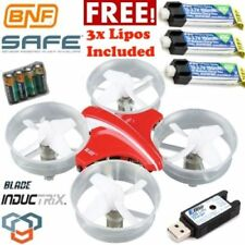 Blade Inductrix BNF Micro Drone with SAFE Technology w/ 3x Free Lipos BLH8780