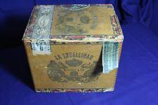 La Excellidad Wooden Cigar Box of Martinez Y Ca.