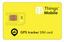 Things Mobile SIM Card per Tracker GPS con 10 Euro Credito