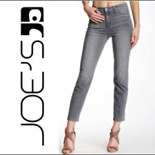 JOE's JEANS THE SIOUXSIE ANKLE High Rise Slim Jeans Gray Ashlie Sz 26