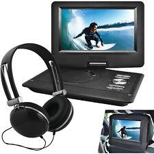 "Ematic 10"" Portable DVD Player w/ Headphones & Car-Headrest Mount (EPD116BL)™"