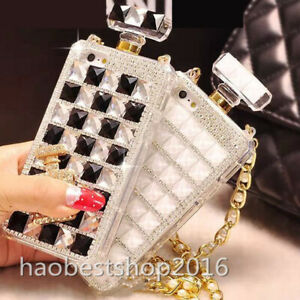 for LG K51/Q51/Reflect Phone Case Girly Bling Perfume Protective Cover for Women
