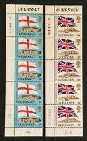 Guernsey. Links with the Commonwealth Strip Set. SG294/295. 1984. MNH. LC374