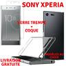 Verre Trempé Vitre Film Ecran Protection + Coque TPU SONY XPERIA L2/XA/ULTRA/XZ