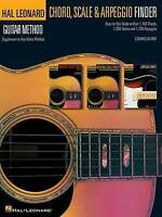 Hal Leonard Guitar Method Guitar Chord Scale & Arpeggio Finder Music Book