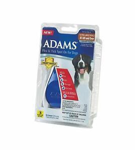 Adams Dog & Puppy XL 81+ Lbs 3 Month Flea Tick Spot On Smart Shield Applicator