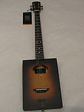 James Neligan CASK FIRKIN  4 string Acoustic Cigar Box Guitar with Gig Bag