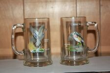 collectible-glass mugs-handpainted-Ned Smith
