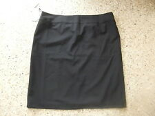 NEW BIZ COLLECTION WORK CORPORATE WEAR A LINE BLACK SKIRT LADIES SIZE 24 CLASSIC