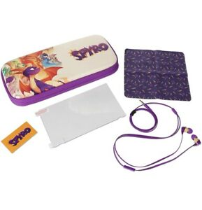 PowerA Travel Stealth Kit with Case for Nintendo Switch - Spyro - RARE NEW