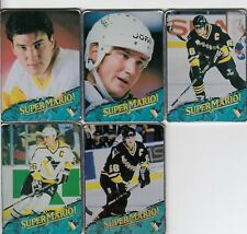 MARIO LEMIEUX METALLIC IMPRESSIONS COMPLETE SET of 5 CARDS by CUI INC