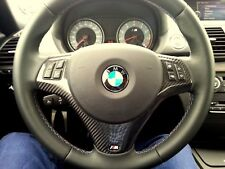 BMW M3 Carbon Trim M Steering Wheel Cover for  Trim E90 E91 E87 E88 E81 E82 E93