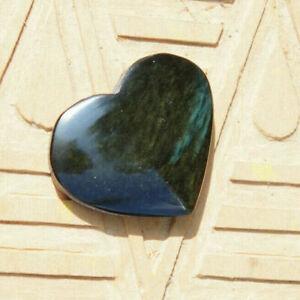 Cabochon in obsidian manto huichol mentogochol