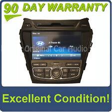 Hyundai Santa Fe radio navigation MP3 bluetooth CD player XM OEM 96560-4Z1004X