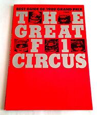BEST GUIDE OF 1989 GRAND PRIX The Great F1 Circus JAPAN PHOTO BOOK Aylton Senna