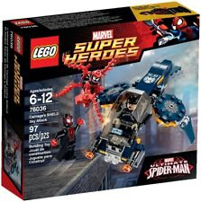 LEGO 76036 Super Heroes Carnage's Shield Sky Attack (Spider-Man) Imperfect Box