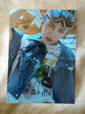 hand signed ATEEZ Kim Hong-Joong 김홍중 金弘中 autographed photo K-POP 5*7 092020B