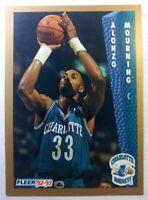 1992-93 Fleer Drake's Alonzo Mourning Rookie RC #5, Charlotte Hornets, HOF