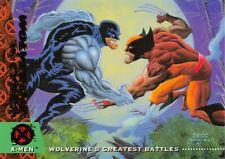 WOLVERINE VS. CYBER / X-Men Fleer Ultra 1994 BASE Trading Card #138
