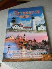 The Lighthouses of Maine Guide - Collection of over 70 pictures + map - New
