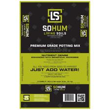 Sohum Living Soil Premium Grade Potting Mix Organic Potting Soil Plant Food New