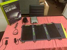 Goal Zero Sherpa 100 Solar Recharging Kit w/ Nomad 20 Solar Panel