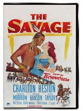 The Savage 1953 DVD - Charlton Heston, Susan Morrow, Joan Taylor