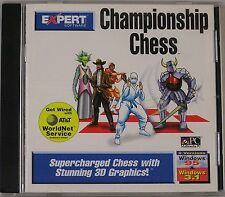 Championship Chess (PC, 1995) Windows 3.1 / 95   Never Used in a Jewel Case
