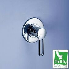 Caroma Cirrus Bathroom Wall Bath or Shower Mixer Chrome on Brass