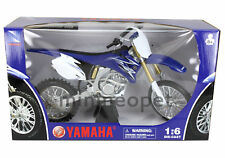 NEW RAY 49093 2009 09 YAMAHA YZ 450F DIKE BIKE 1/6 BLUE
