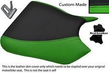 BLACK & GREEN CUSTOM FITS KAWASAKI NINJA ZXR 750 91-92 (J K) FRONT SEAT COVER