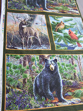 Quilting Treasures Northern Woods quilt sew fabric 20737 FJ