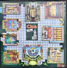 The Simpsons Clue Board Game BOARD ONLY Replacement Parker Brothers 2002
